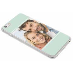 Cover Flessibile Personalizzate iPhone 6(s) Plus - Trasparente