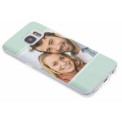 Cover Flessibile Personalizzate Samsung Galaxy S7 - Trasparente