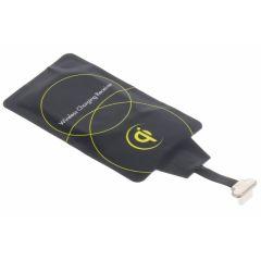 Qi Ricevitore di ricarica wireless con USB-C -  Nero