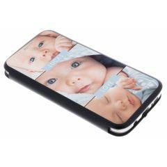 Custiodia Personalizzate (unilaterale) Samsung Galaxy S7 Edge - Nero