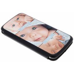 Custiodia Personalizzate (unilaterale) Samsung Galaxy S6 Edge - Nero