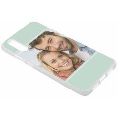 Cover Flessibile Personalizzate Huawei P20 - Trasparente