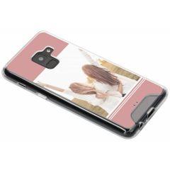 Cover Rigida Personalizzate Samsung Galaxy A8 (2018) - Trasparente