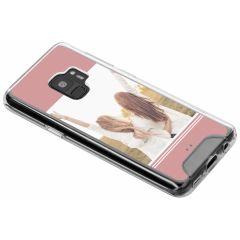 Cover Rigida Personalizzate Samsung Galaxy S9 - Trasparente