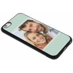 Cover Flessibile Personalizzate iPhone 6 / 6s - Nero