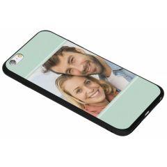 Cover Flessibile Personalizzate iPhone 6(s) Plus - Nero