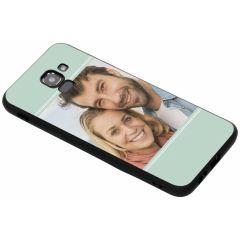 Cover Flessibile Personalizzate Samsung Galaxy J6 - Nero