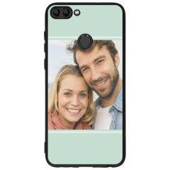 Cover Flessibile Personalizzate Huawei P Smart - Nero