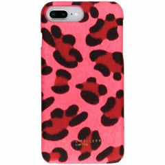 My Jewellery Cover Rigida Design iPhone 8 Plus / 7 Plus / 6(s) Plus - Leopard Print Pink