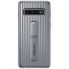 Samsung Cover Protettiva standing Samsung Galaxy S10 - Argento