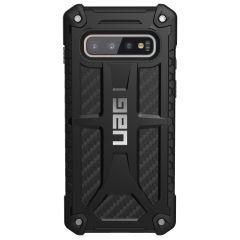 UAG Monarch Cover in Carbonio Samsung Galaxy S10 - Nero