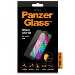 PanzerGlass Pellicola Protettiva Compatibile con la Custodia Samsung Galaxy A40 - Nero