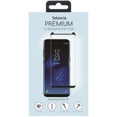Selencia Pellicola Protettiva Premium in Vetro Temperato Samsung Galaxy S8 - Nero
