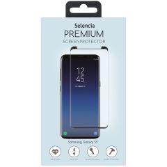 Selencia Pellicola Protettiva Premium in Vetro Temperato Samsung Galaxy S9 - Nero