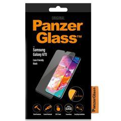PanzerGlass Pellicola Protettiva Compatibile con la Custodia Samsung Galaxy A70 - Nero