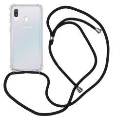 iMoshion Cover con Cordino Samsung Galaxy A40 - Trasparente