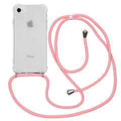 iMoshion Cover con Cordino iPhone SE (2020) / 8 / 7 - Trasparente