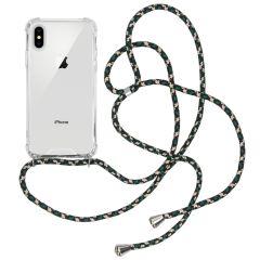 iMoshion Cover con Cordino iPhone Xs / X - Trasparente