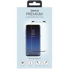 Selencia Pellicola Protettiva Premium in Vetro Temperato Samsung Galaxy S9 Plus - Nero