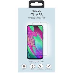 Selencia Pellicola Protettiva in Vetro Temperato Samsung Galaxy A40