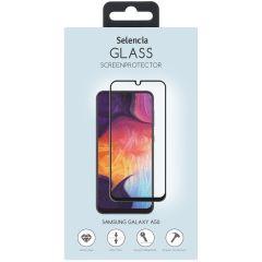 Selencia Pellicola Protettiva Premium in Vetro Temperato Samsung Galaxy A50 / M31 - Nero