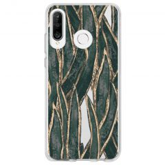 Cover Design Huawei P30 Lite - Wild Leaves