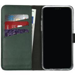 Selencia Custodia Portafoglio in Vera Pelle iPhone 11 Pro - Verde