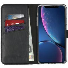 Selencia Custodia Portafoglio in Vera Pelle iPhone 11 Pro Max - Nero