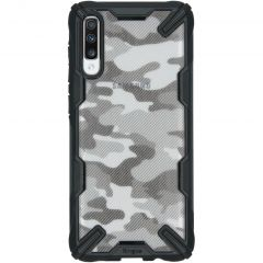 Ringke Fusion X Design Cover Samsung Galaxy A70 - Camo Black