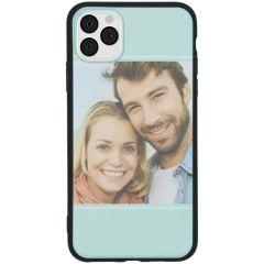 Cover Flessibile Personalizzate iPhone 11 Pro Max - Nero