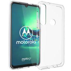 Accezz Cover Clear Motorola Moto G8 Plus - Trasparente