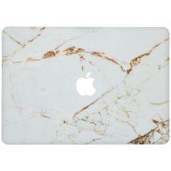 Custodia Rigida Design  MacBook Pro 15 inch Retina - White Marble