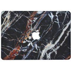 Custodia Rigida Design  MacBook Pro 15 inch Retina - Black Marble