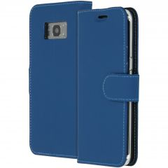 Accezz Custodia Portafoglio Flessibile Samsung Galaxy S8 - Blu scuro