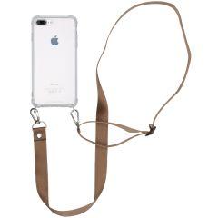 iMoshion Cover con Cordino - Nylon iPhone 8 Plus / 7 Plus - Beige
