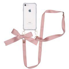 iMoshion Cover con Cordino - Satin iPhone SE (2020) / 8 / 7 - Rosa oro