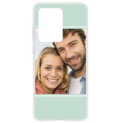 Cover Flessibile Personalizzate Samsung Galaxy S20 Ultra - Trasparente
