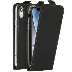 Accezz Flipcase iPhone Xr - Nero