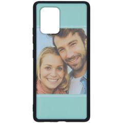 Cover Flessibile Personalizzate Samsung Galaxy S10 Lite - Nero