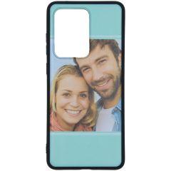 Cover Flessibile Personalizzate Samsung Galaxy S20 Ultra - Nero