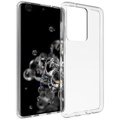 Accezz Cover Clear Samsung Galaxy S20 Ultra - Trasparente