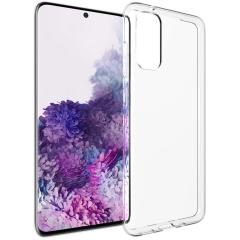 Accezz Cover Clear Samsung Galaxy S20 - Trasparente