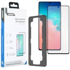 Accezz Pellicola Protettiva in Vetro Temperato + Applicatore Samsung Galaxy S10 Lite
