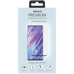 Selencia Pellicola Protettiva Premium in Vetro Temperato Samsung Galaxy S20 Ultra - Nero