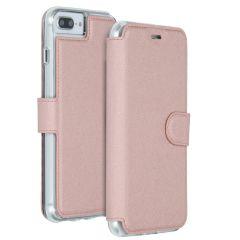 Accezz Xtreme Custodia Portafoglio iPhone 8 Plus / 7 Plus - Rosa