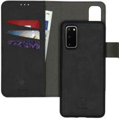 iMoshion Custodia rimovibile 2-in-1 de Luxe Samsung Galaxy S20 - Nero