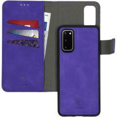 iMoshion Custodia rimovibile 2-in-1 de Luxe Samsung Galaxy S20 - Viola
