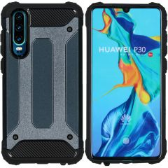 iMoshion Cover Robusta Xtreme Huawei P30 - Blu scuro