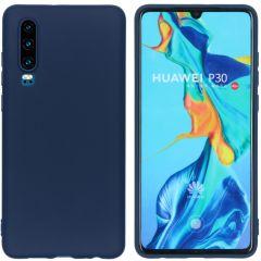 iMoshion Cover Color Huawei P30 - Blu scuro