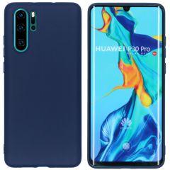 iMoshion Cover Color Huawei P30 Pro - Blu scuro